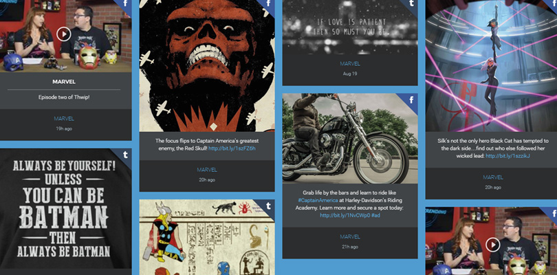 10 Ways Build A Social Media Wall With Flow-Flow